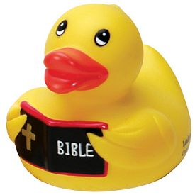 Customized Preacher Rubber Duck