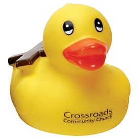 Promotional Church-Goer Rubber Duck