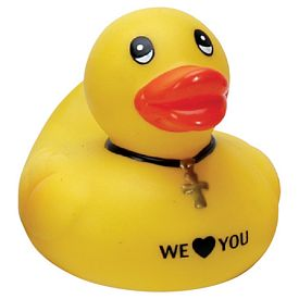 Promotional Religious Rubber Duck