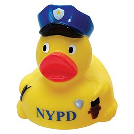 Customized New Cop Rubber Duck