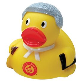 Promotional Court Judge Rubber Duck