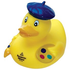 Customized Painter Rubber Duck