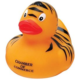 Promotional Tiger Rubber Duck