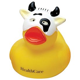 Promotional Cow-Face Rubber Duck