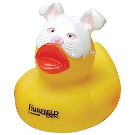 Promotional Rabbit-Face Rubber Duck
