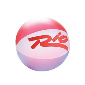 Promotional 20 Red White Blue Translucent Beachball
