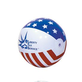 Promotional 16 Stars And Stripes Inflatable Beachball