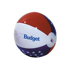 Customized 24 Patriotic Inflatable Beachball