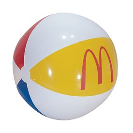 Customized 36 Inflatable Multi-Color Beachball