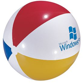 Promotional 48 Inflatable Multi-Color Beachball