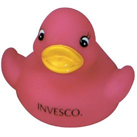 Promotional Hot Pink Cutie Rubber Duck