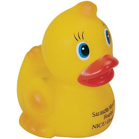 Customized Big Head Rubber Duck