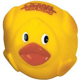 Customized Fatty Roller-Ball Rubber Duck
