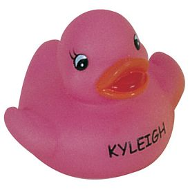 Promotional Glow In The Dark Pinky Cutie Duck