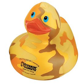 Promotional Yellow Camouflage Rubber Duck