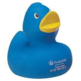 Promotional Blue Sweetie Rubber Duck