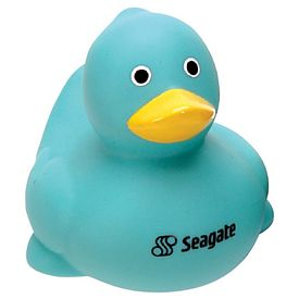 Promotional Teal Green Color Sweetie Rubber Duck