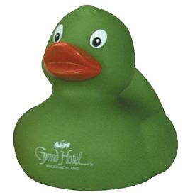 Customized Forest Green Lovely Rubber Duck
