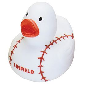 Custom Baseball Gameday Rubber Duck