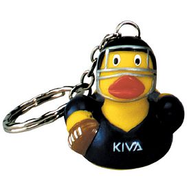 Promotional Touch Down Ducky Key Ring