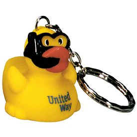 Customized Diving Ducky Key Ring