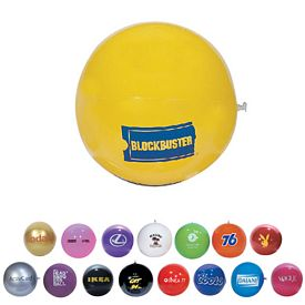 Custom 16 Solid Color Beachball