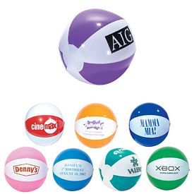 Custom 9 Two Color Beachball