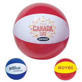 Custom 20 Two Color Beachball