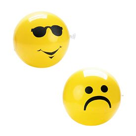 Promotional 9 Yellow Facial Expression Ball