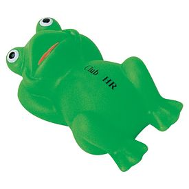 Customized Easy Froggy Rubber Toy