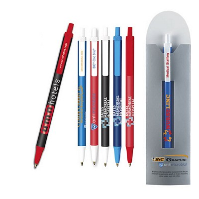 Customized Bic Clic Stic Antimicrobial Pen And Sleeve