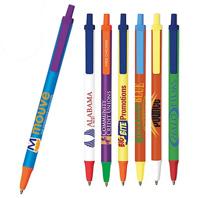 Promotional Bic Clic Stic Colormax Pen