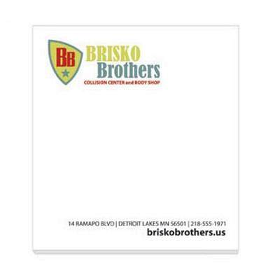 Promotional Bic 275X3 Adhesive Sticky Notes 25 Sheets
