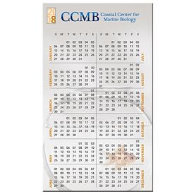 Custom Bic Medium Calendar Magnets 2-7-8 X 4-15-16