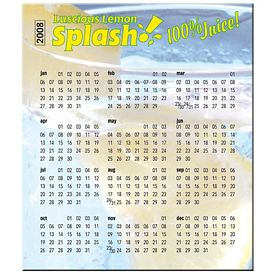 Promotional Bic Small Calendar Magnets 338X3875