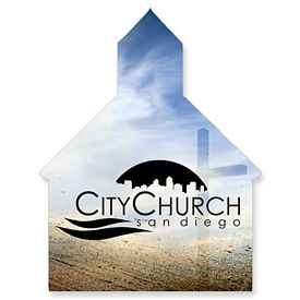 Promotional Bic Church Steeple Magnet