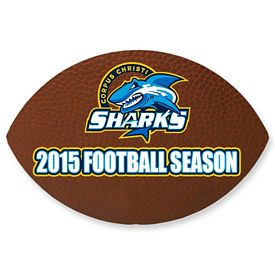 Promotional Bic Football Magnet