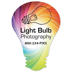 Customized Bic Light Bulb Magnet