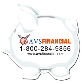 Customized Bic Piggy Bank Magnet