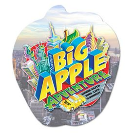 Customized Bic Apple Magnet