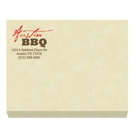 Custom Bic 4X3 Adhesive Sticky Notes 50 Sheets