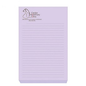 Custom Bic 4X6 Adhesive Sticky Notes 100 Sheets