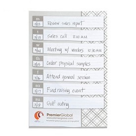 Customized Bic 6X9 Adhesive Sticky Notes 25 Sheets