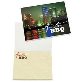 Custom Bic 4X3 Sticky Note Booklet
