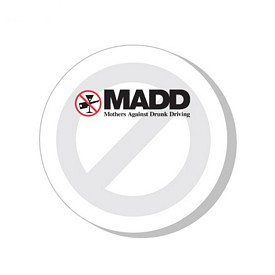 Customized Bic 3X3 Say No To Drugs Die-Cut Sticky Notes