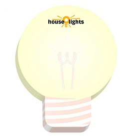 Promotional BIC 3x3 Light Bulb Die-Cut Sticky Notes
