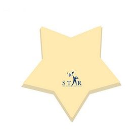 Custom Bic 3X3 Star Die-Cut Sticky Notes