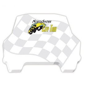 Customized Bic 4X3 Car Die-Cut Sticky Notes