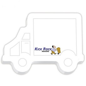 Promotional Bic 4X3 Truck Die-Cut Sticky Notes
