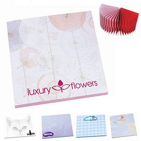 Custom Bic 3X3 Adhesive Spring Sticky Notes 25 Sheets
